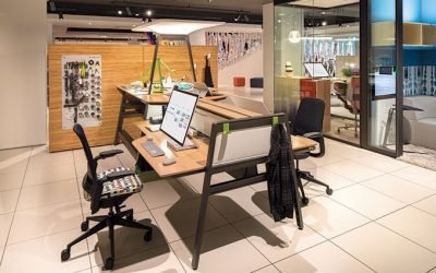 Office Furniture Companies Embrace Co-Working