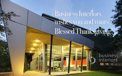 Happy Thanksgiving from Business Interiors!