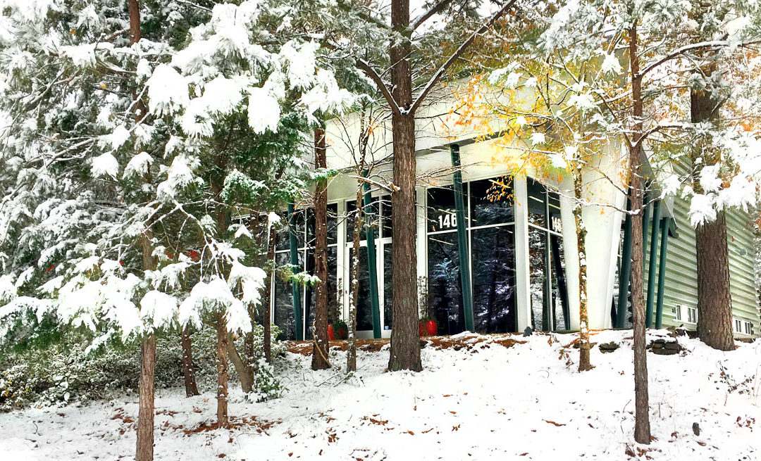 Snow Day @ Business Interiors!
