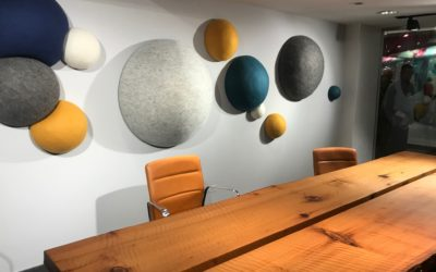 Acoustics Trending at NeoCon 2018