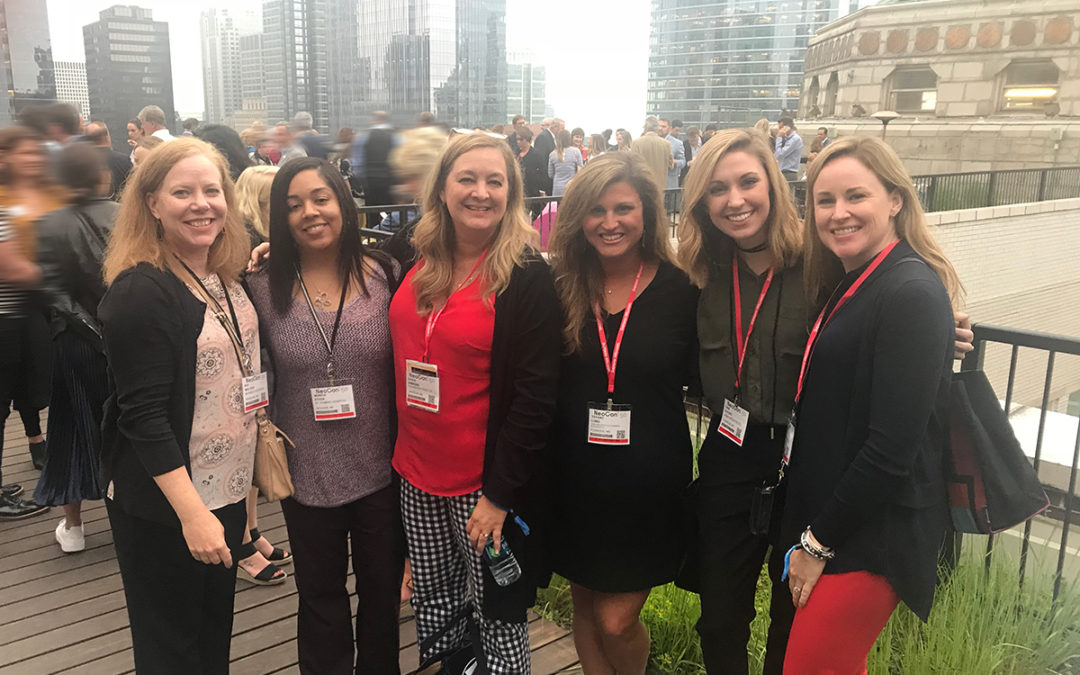 NeoCon in Chicago Inspires and Informs Business Interiors' Staff and Designer Friends