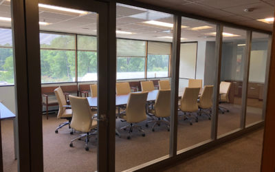 INSTALL: NEW CONFERENCE ROOM WITH LIGHT, FLEXIBILITY, AND ON A BUDGET