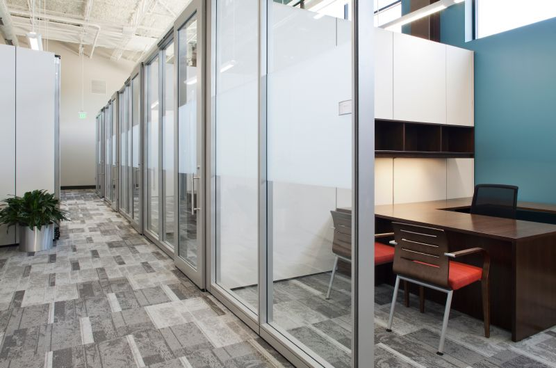 DEMOUNTABLE WALLS ARE HIDDEN SOLUTION TO OFFICE DESIGN