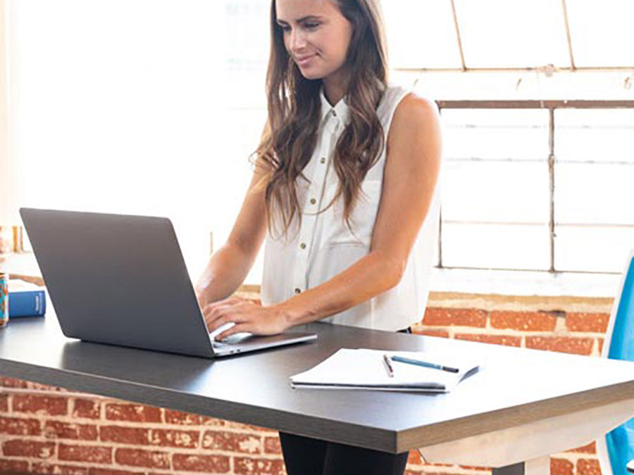 Experience the Freedom to Move with New Sit/Stand Desktops
