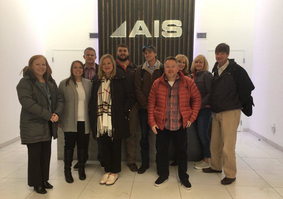 Business Interiors Team Members Tour New Products Offered at AIS in Boston