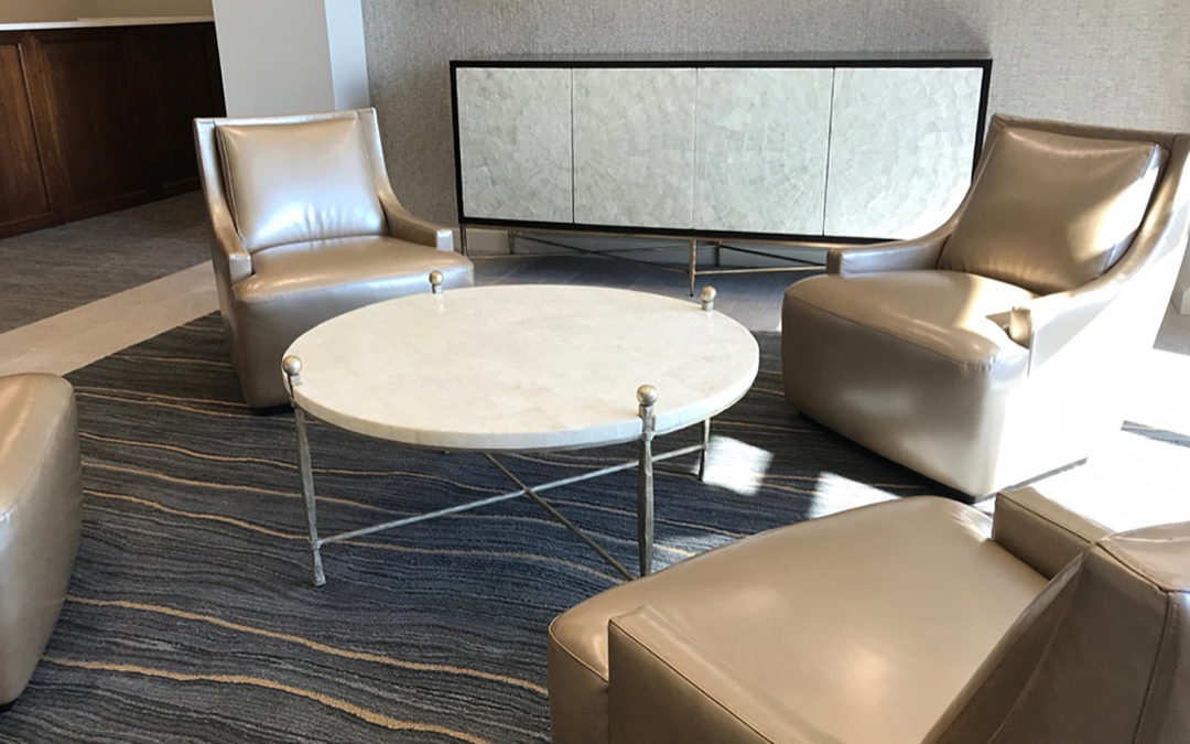 INSTALL: SOPHISTICATED PALETTE FOR A POLISHED, CORPORATE SETTING