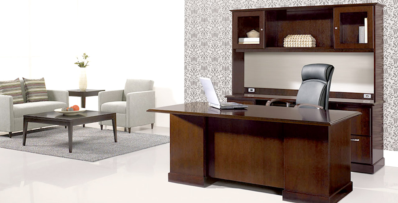 New Year New Employees Starting New Executive Desks Are