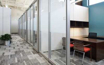 DEMOUNTABLE WALLS ARE HIDDEN SOLUTION TO OFFICE DESIGN